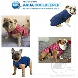 Manteau rafraichissant Aqua Coolkeeper Bleu ou Rose