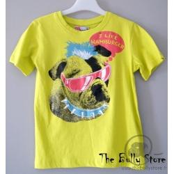 T-shirt Enfants Bulldog Anglais vert