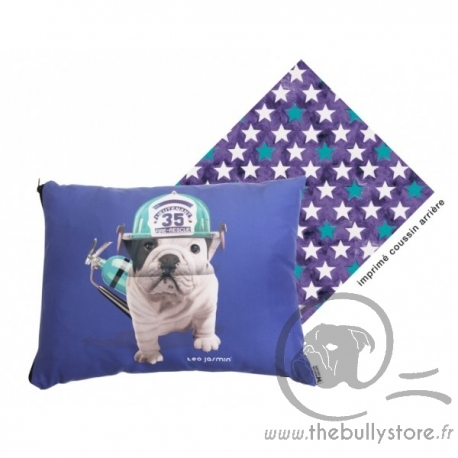 Coussin Teo Jasmin Rescue