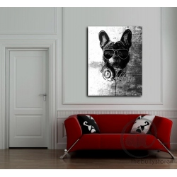 Toile Bulldog Anglais