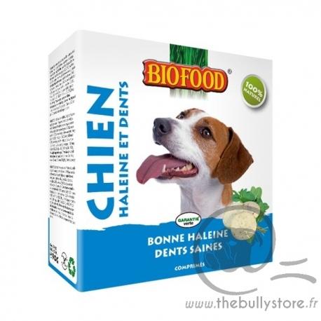 """Friandises """"Haleines et dents"""" Biofood pour chien"""