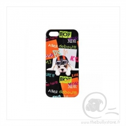 Coque iPhone 5 Debout Puppy