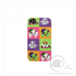 Coque iPhone 5/5S puppy Bull Dogs