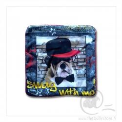 Housse de coussin Bulldog swag 40cm