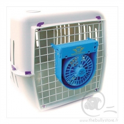 Ventilateur pour cage de transport