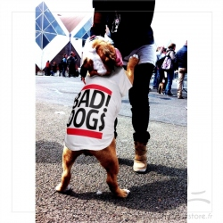 T-shirt BAD DOG spécial Bulldog